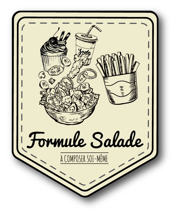La formule salade de votre restaurant Le LOCAL à Saint-Égrève