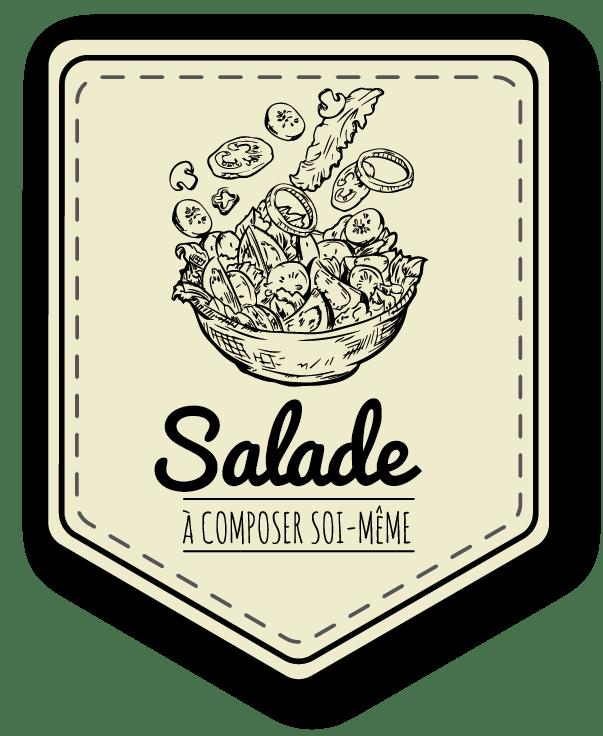 Une salade à faire soi-même selon vos envies à Saint-Égrève